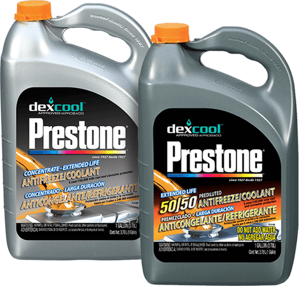 how to use prestone concentrated antifreeze